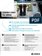 Golden Rules for Pilots