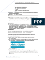 Informe Perforacion y Voladura