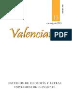 Revista Valenciana 15. Dossier de Pensamiento Mexicano