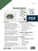 Manual Del Sensor Termistor CI-6527A