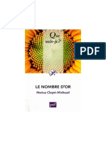(Que Sais-je) Marius Cleyet-Michaud-Le Nombre d'or-Presses Universitaires France (2009)