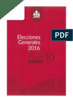 Elecciones Generales 2016 Pacto Etico Electoral