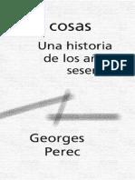 Georges Perec - Las cosas. Una historia de los años 60.pdf