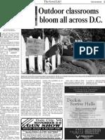 Outdoor classrooms bloom all across DC