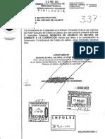 Iniciativa Gobernador Aristóteles Sandoval - Sistema Estatal Anticorrupción