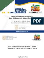 RELEVANCIA DE INGEMMET PARA PROMOVER LAS EXPLORACIONES -susana_vilca.pdf