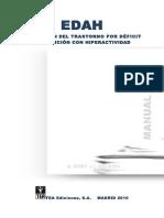 EDAH.Evaluación del Trastorno por Déficit de Atención con Hiperactividad. Manual (Sexta Edición).pdf