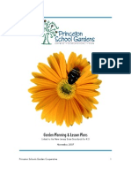 Garden Planning and Lesson Plans