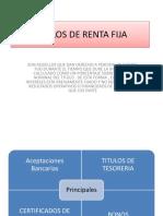 Titulos de Renta Fija (1)