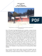 Breve Historia de La Escuela Primaria Ing. Miguel Rebolledo - La Marquesa, Edo. de México - Carlos Eduardo Linares Romero