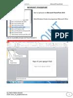 Practicas de Powerpoint 2010