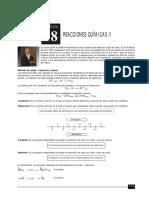 18 - Reacciones Químicas II