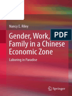 Gender Work and Family in a Chinese Economic Zone