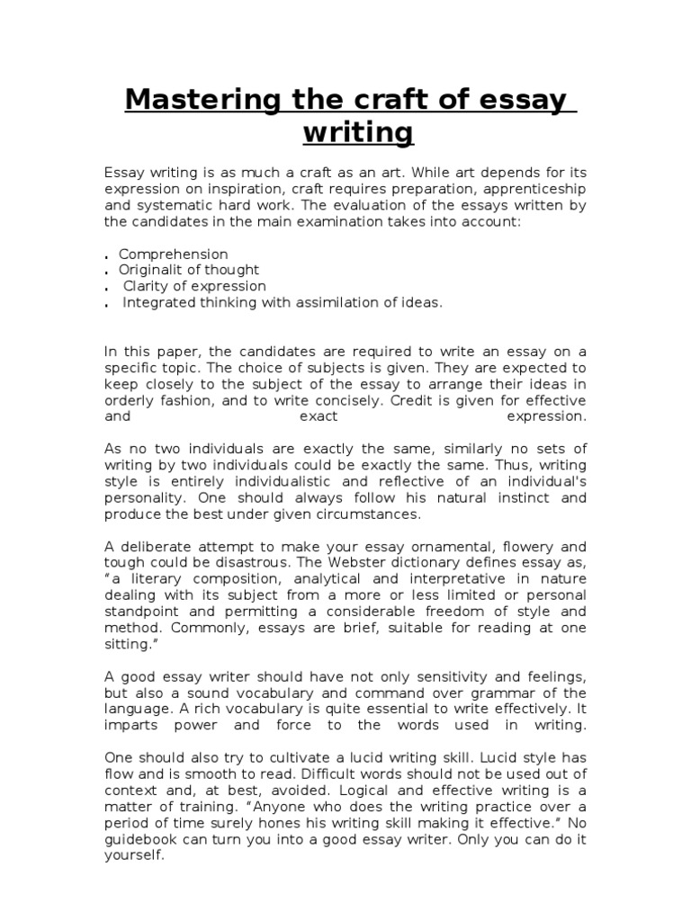 Problem statement in thesis
