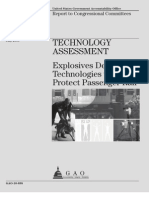 Technology Assessment Explosives Detection Technologies to Protect Passenger Rail (Report)