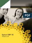 Epicor 10 Adaptive ERP WP ENS