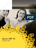 Epicor 10 Adaptive ERP WP ENS