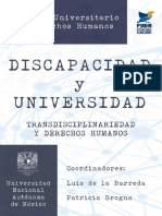 Discapacidad y Universidad