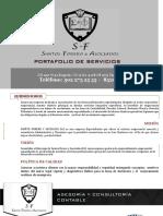 Portafolio Santos Forero y Asociados Sas