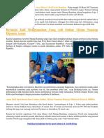 Carlton Cole Akan Dilepas Oleh Persib Bandung