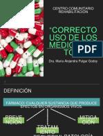 Uso Correcto de Medicamentos
