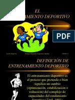 [PD] Presentaciones - Principios Entrenamiento Deportivo