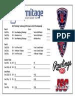 2017 International Softball Congress Canada East under-21 qualifier