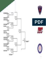 2017 International Softball Congress Canada East qualifier winner's bracket
