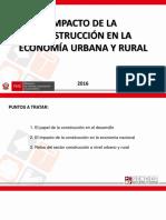 006 - Ppt 12 - Charlas de Extensión _impacto de La Construcción en La Economía Urbana y Rural