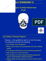 Safety h2s Training Presentation