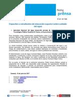 Nota de Prensa Nº 129-2017 - ALA CAMANÁ MAJES