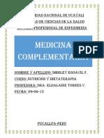 Medicina Complmentaria