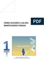Cómo Acceder a Las GES Beneficiarios FONASA
