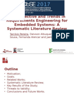 Retrospective and Trends in Requirements Engineering for Embedded Systems