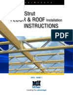 PosiStrut Floor and Roof Installation Instructions