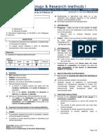 [EPI] 1.01 - Overview of Epidemiology & Descriptive Epidemiology - Dr. Butacan