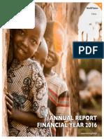 World Vision Kenya Annual Report 2016