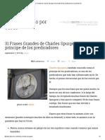 31 Frases Grandes de Charles Spurgeon_ El Príncipe de Los Predicadores _ Josué Barrios