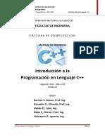 Introduccion a la programacion en lenguaje C++