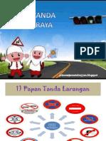 Papan Tanda Jalan Raya