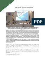 El BID Se Interesa Por La Reforma Educativa Ecuatoriana