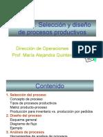 Seleccion e Implementacion de Procesos Productivos