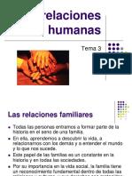 Relaciones Humanas Tema 3