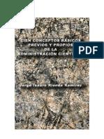 Administracion 100 Conceptos Basicos de La Administracion Cientifica