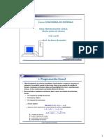 3. Programacion Lineal_diseño de Tuberias