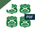 Logo de carabineros de Chile para imprimir.doc
