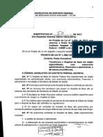 Substitutivo do deputado distrital Chico Vigilante ao PL 1486/2017