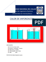 Calor de Vaporización Modificado