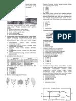 Soal Biologi 3 Ipa 3