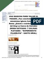 La _maquina Del Tiempo_ Del Vaticano Esta Conectada Con Venecia _ Juan Marcos - Secreto Masonico - Gabitos
